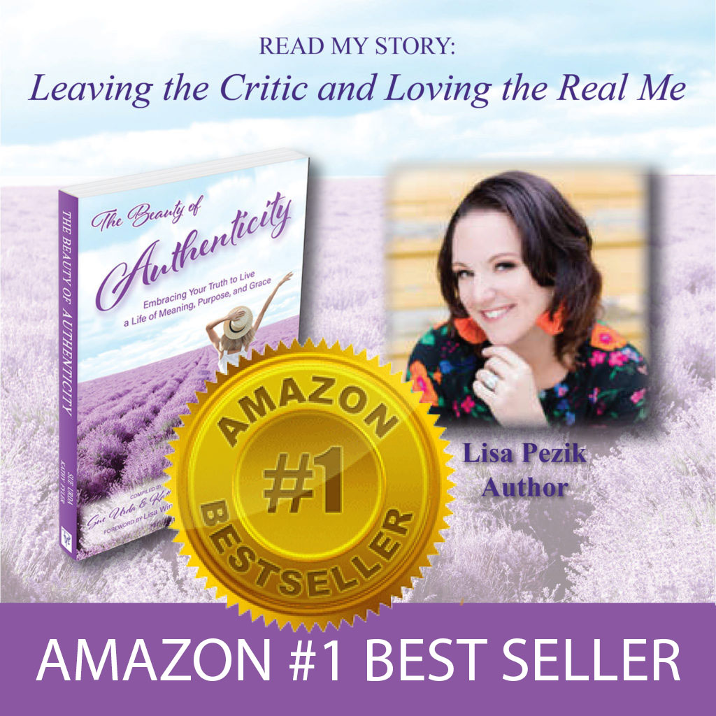 Amazon #1 Best Seller - The Beauty of Authenticity Book